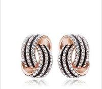alloy ornamentation - Summer Style bijoux Earrings For Women Hello Kitty Stud Earrings Roxi Outstanding Woman Fine Jewelry Ornamentation The New