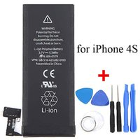 Wholesale 1430mAh Genuine Li ion Mobile Phone Accessory Replacement Backup Battery Pack with Opening Tools Kit for iPhone S