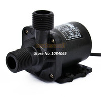 Wholesale 2Pcs Hot Selling Electric Centrifugal Pump High Quality DC V Water Pump Black