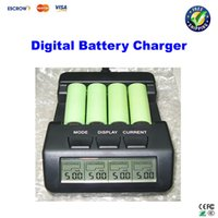 Wholesale BM110 upgrade to N100 Intelligent Digital Battery Charger Tester LCD Multifunction for AA AAA Rechargeable AKKU