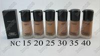 Wholesale New Professional Makeup Face Mineralize Foundation Liquid SPF15 ml
