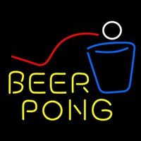 beer pong lights - HOT Eagle quot x20 quot Beer Pong Real Glass Neon Light Signs Bar Pub Restaurant Billiards Shops Display Signboards