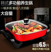 Wholesale Multifunctional electric cooker electric cooker electric mini electric Hot pot dormitory Nonstick Pan home Hot pot