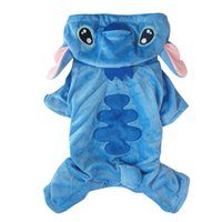 animal costumes pets - New arrival Winter Blue Dog warm dog Coat hoody Stitch design pet puppy Jacket clothes