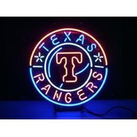 baseball beer game - NEON SIGN MLB HANDICRAFT TEXAS RANGERS BASEBALL REAL GLASS TUBE BEER BAR LIGHT GAME ROOM SHOP x15 quot