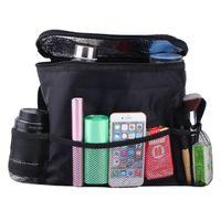 Wholesale Adjustable Straps Car Organizer Car Back Seat Multi Pocket Pouch Child Friendly Nylon Storage Bag for Cars