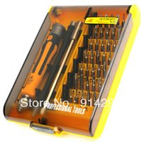 Wholesale NEW Precision Multi function Electron Torx Screwdriver Tool Set In laptop computer mobile repair tool