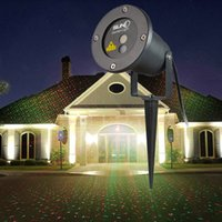 Wholesale LED FloodLight Outdoor Waterproof IP65 Laser Firefly Stage Lights Landscape Red Green Projector Christmas Garden Sky Star Lawn Lamps By DHL