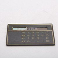 Wholesale 8 Digit LCD Touch Screen Promotions Solar Electronic Calculator Solar Powered Mini Calculator