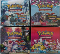 trading cards - Poke Trading Card Game XY Black White Best Withes Box Children Card Toys