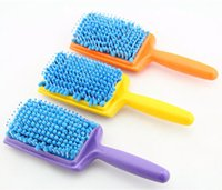 Wholesale New Magic Quick Drying Comb Micro Fiber Dry Hair Brushes Absorbent Oil Water Massage Comb