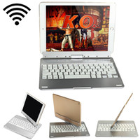 Wholesale 360 Degree Rotating Wireless Bluetooth Keyboard Stand with Energy Saving Sleep Mode for iPad Air