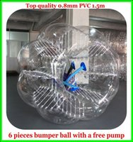 Wholesale AAA for pieces bumper ball bubble soccer ball top quality mm PVC m with one air pump as a Gift