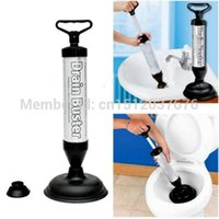 Wholesale Powerful Toilet Bath Tub Shower Sink Drain Clog Suction Buster Plunger Remover