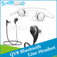 Wholesale Update QY7 Bluetooth Headphones QY8 COULAX V4 Wireless Sport Headphones Stereo Sweatproof In Ear Noise Cancelling Headphones with Phones