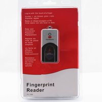 Wholesale URU Digital Persona Fingerprint FP Scanner USB UareU Thumb Collection Device Free Software offered