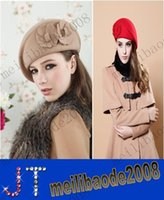 Wholesale New Arrival beret Cap Women Hat Winter Caps Knitted Hats For Woman Twist Lady s Headwear Delicate Colors MYY3452A