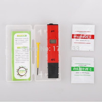 Wholesale 50pcs ATC PH meter swimming pool water ph test pen accuracy DHL Fedex