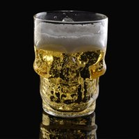 Wholesale Crystal Kull Glass ml Beer Mug Drinking Ware Home Bar Party Beer Wine Glass Cup
