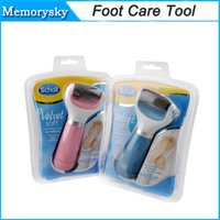 health care - 2015 New Scholl Velvet Smooth Express Pedi Electric Foot File Electric Scholl Velvet Health Beauty Foot Care Tool Foot Cares in stock