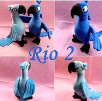 Wholesale 30cm RIO Movie Cartoon Plush Toys RIO toy Blue Parrot Blu Jewel Bird Gifts For Boys Girls Baby plush doll