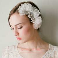 Cheap 2015 Free Shipping Crystals Bridal Head Combs Rhinestones Tiered Flower Leaves Cheap Wedding Hair Accessories CPA098