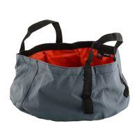 Wholesale Portable Outdoor Foldable Folding Camping Washbasin Basin Bucket Bowl Sink Washing Bag Hiking Water Pot