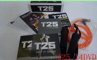 Cheap Alpha Beta Gamma Core Speed T25 Workout Factory T's Crazy Potent Slimming Training 14 DVDs Focus T25 Fast Shipment Shaun Set Via DHL Sh