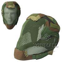 Wholesale Fencing Masks Tactical Helmet Camouflage Fencing Mask MZ6 Wire Guard Camouflage Hot Sale High Quality