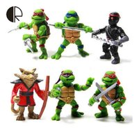 animated hands - Teenage Mutant Ninja Turtles animated version TMNT2015 movable nostalgic boy toy doll hand to do a full set of six modelHT2854