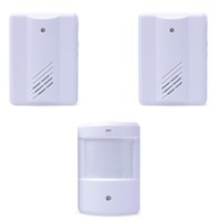 Wholesale New Arrival Branch Infrared Induction Welcome doorbell Fission Welcome Alarm doorbell LB