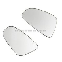 Wholesale Left Right Side Heated Wing Door Mirror Glass White For VW Golf GTI Rabbit MK6