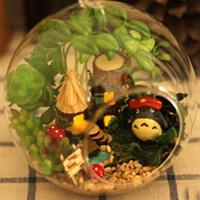 Wholesale Diy Doll House Mini Glass Ball Model Building Kits Handmade Wooden Miniature Dollhouse Toy Christmas Gift Elves Of Tribal