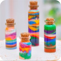 colored sand - Sand painting colored sand bottled g pack colors available sand cpainying for hild pack different colour CYB47