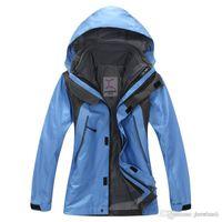 Wholesale Kids Winter in1 Jacket Waterproof Windproof Fleece Lined Warm Coat Boys Outdoor Running Climbing Sports Outwear Hooded Overcoat Years