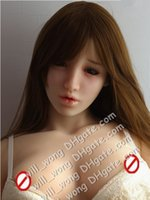 Wholesale 145cm height full solid silicone sex dolls life size Realistic Silicone Love doll Sex dolls sex products for men real pussy