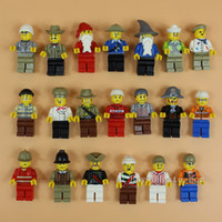 Wholesale High Quality Minifigures Figures Men People Minifigs cm Building Blocks Educational Toy For Kids DIY Bricks Toys Action Figures