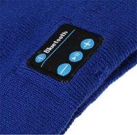 beanie hat long - Llithium Long Standby Bluetooth Music Wireless Call Intelligent Hat Wireless Stereo Headset Warm Winter Beanie Pom Knit Hat