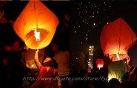 Sky Lanternes, Souhaitant <b>Lantern</b> feu ballon Kongming chinois lanterne Souhaitant lampe ANNIVERSAIRE DE MARIAGE PARTY Souhaitant Lampe