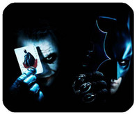 batman mouse pad - Hot Sale Batman And Joker Gaming Custom Classic Style Mouse Pad Customized Rectangle Mouse pad Computer Supplies