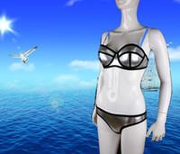 bath brackets - Swimwear Woman Fashion Neoprene Bikinis Women New Summer Sexy Swimsuit Bath Suit Push Up Bikini set Bathsuit Biquini