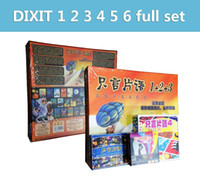 Wholesale dixit cards board games table card FULL SET fun family children game imagination playing cards A5