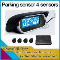 alam system - car dvr parking sensor with sensors LCD display buzzer alam wireless for option car parking system