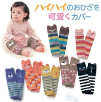 Wholesale New Cute Infant Baby Leg Warmer Girls Boys Cartoon Santa Leg Warm Child Socks Legging Tights Baby Skull Leg Warmers Children Warmers A3537