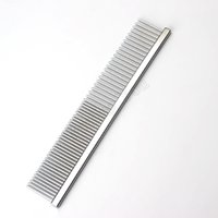beauty kitten - New Stainless Steel Cleaning Comb Brush Dog Cat Pet Hair Repair Comb Puppy Or Kitten Grooming Beauty Dress Up