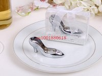 Wholesale Fedex DHL Cute Wedding bridal shower favor party gifts Shoe bottle opener