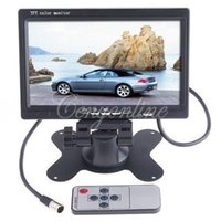 Wholesale 7 Inch IR Color TFT LCD Car Mirror Monitor Screen Auto Vehicle Parking Reverse Backup Rear View Camera Stander Mount Holder