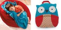 Cheap DHL FEDEX Gorgeous Cartoon Cotton cute Baby Bid Infant folding Towels Children's versatile blanket quilt pillow travel blanket