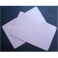 Wholesale 50 Glossy inkjet blank pvc card inkjet printable pvc card mm x mm x0 mm for Epson T50 P50 A50 L800 R290 R230