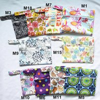 menstrual pads - U PICK Mini Small Wet Bag Reusable for Mama Cloth Menstrual Pad CupTampon Baby Bib Wipes Designs